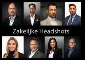 Zakelijke headshots